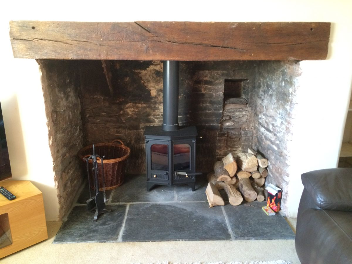 Recent Installation of Charnwood Country 6 Woodburner near Taunton