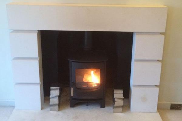 Charnwood C6 Woodburner Install in Taunton