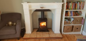 Woodburner Installation in Nether Stowey