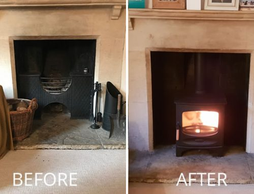 Woodburner Installation near Bath