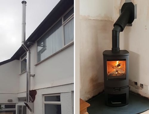 No Chimney, No Problem! – Woodburner Installation with External Chimney System