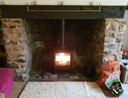 Installation of Ecosy Purefire Woodburner in Taunton