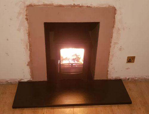 Ecosy Purefire Curve Defra Installation in Stogursey