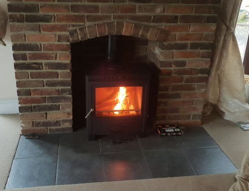 Solution 5 Multi Fuel Woodburner Stove Installation in Fitzhead, Taunton