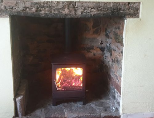 Woodburner Installation in East Anstey near Tiverton