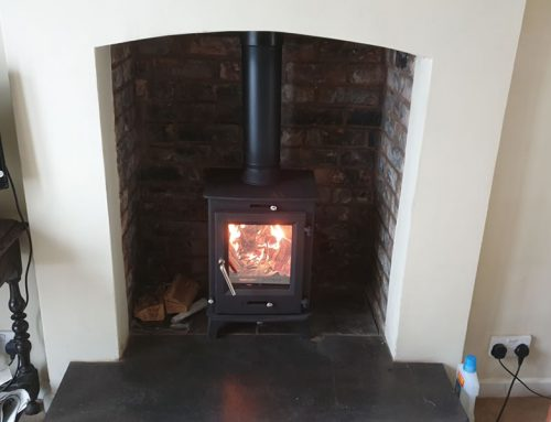 Installation of Ecosy Ottawa Woodburner in Porlock