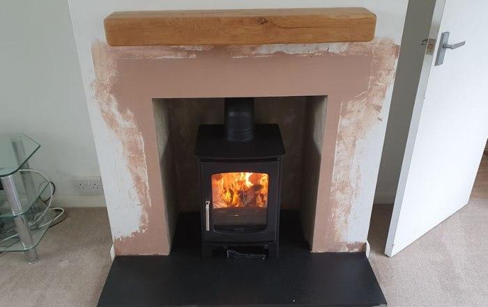 Fireplace Renovation & Woodburner Installation in West Bagborough near Taunton