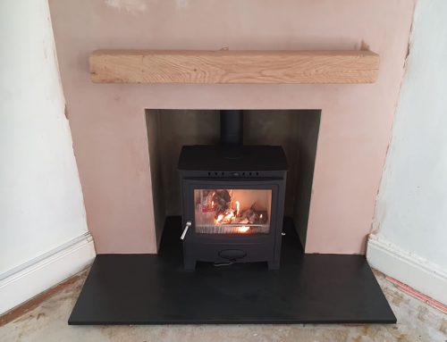 Fireplace Renovation and Woodburner Installation in Chard