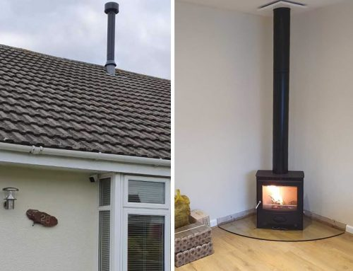 HETAS Woodburner Internal Twinwall Chimney System Installers in Bridgwater