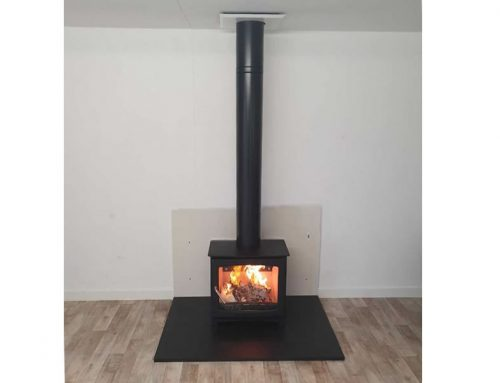 Can I install a woodburner in my home garden office or log cabin?