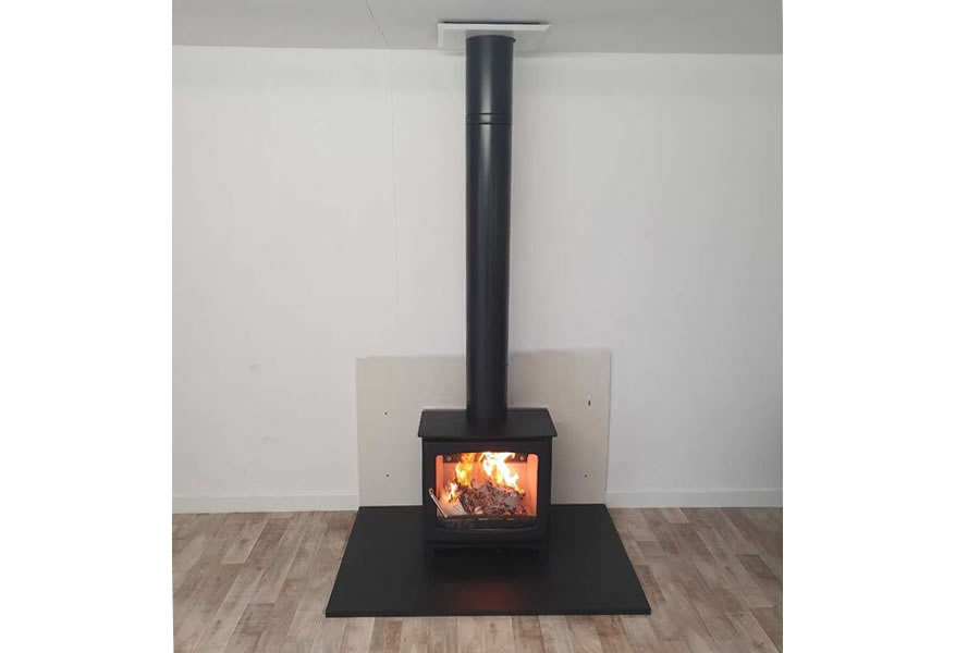 HETAS Woodburner Twinwall Chimney installer in Taunton
