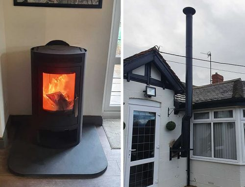 Arctic 5 Woodburner and Twinwall Chimney Installer in Langport