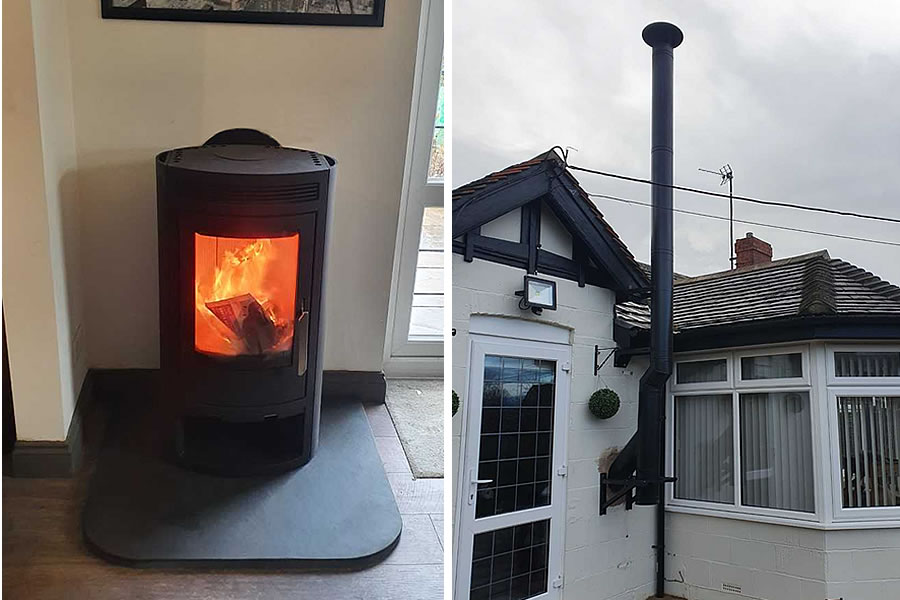 Twinwall Chimney System Installers in Langport and Curry Rival