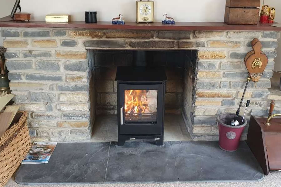 HETAS Woodburning Stove installers in Edington near Bridgwater.