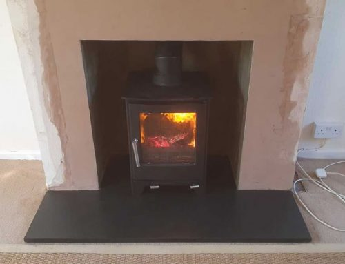 Fireplace Renovation and Woodburner Installation in Glastonbury