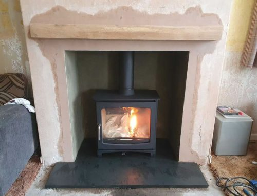 Fireplace Renovation and Woodburner Installation in Pawlett