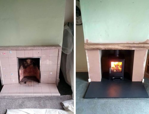Fireplace Renovation and Woodburner Installation at North Curry near Taunton