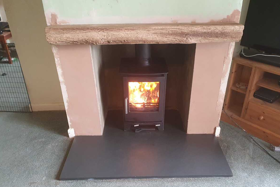 Fireplace Renovation and Woodburner Installers in North Curry After