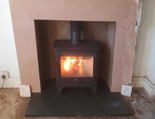 Enlarge fireplace and Install Woodburner in Glastonbury