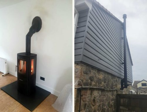 Installation of ACR NEO 3C Stove in Burtle Somerset