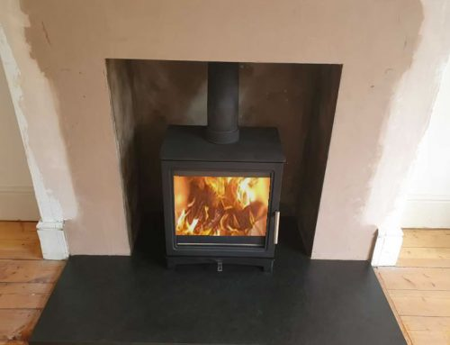 Renovation of Fireplace with Woodburner installation in Taunton