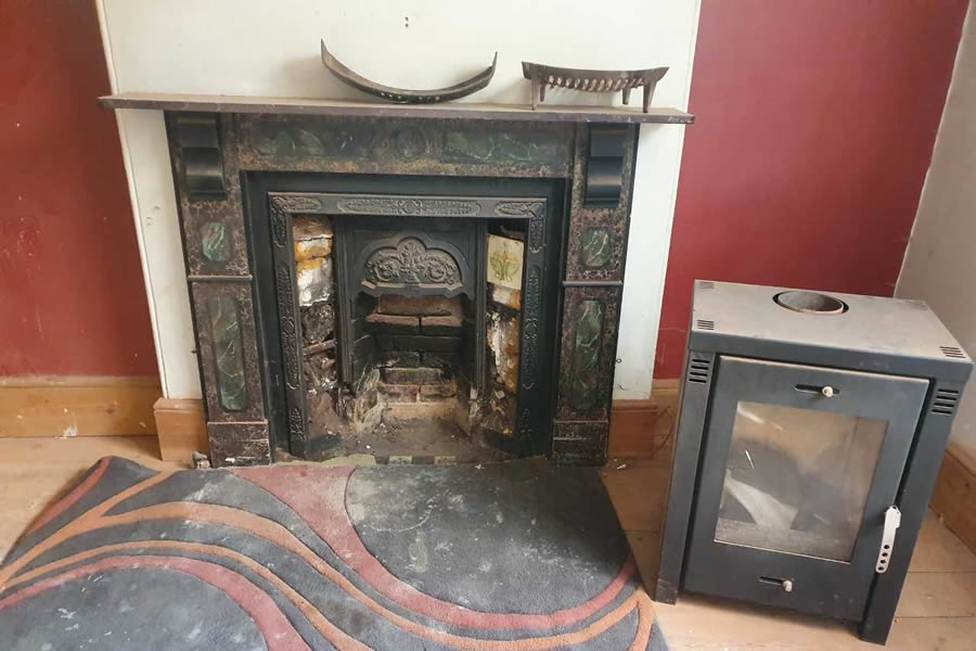 Period property fireplace renovation and restoration in Wellington